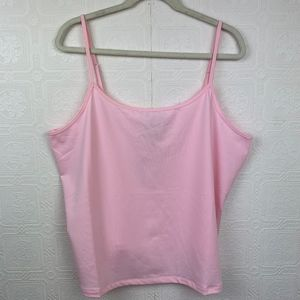 New Lane Bryant Tank Top 18 20 Camisole Pink A34